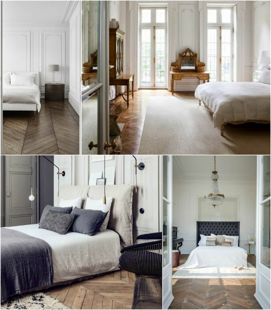 Спальня Классика - Отделка Пола - Спальня в Классическом Стиле