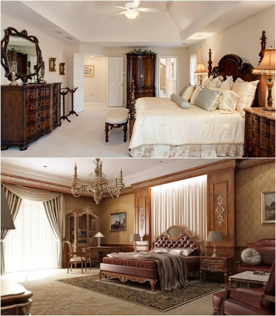 Спальня Классика - Декор для Спальни - Спальня в Классическом Стиле
