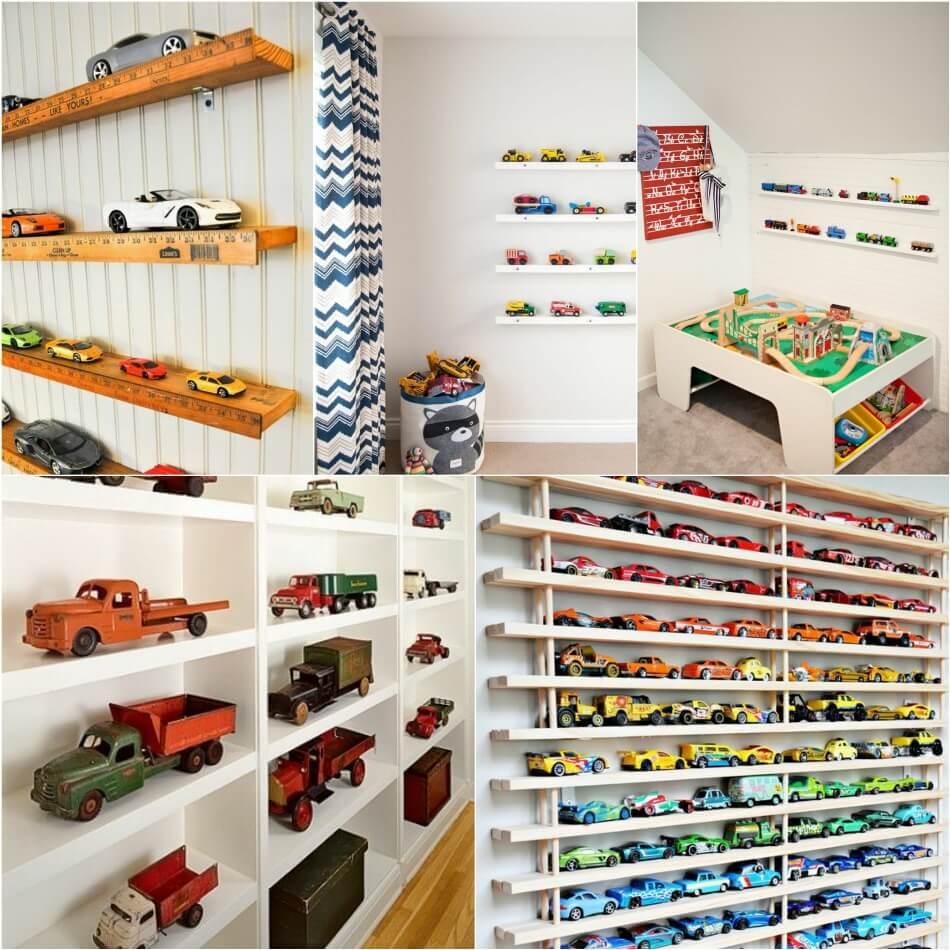 Детская для Мальчика − Хранение в детской − Дизайн Комнаты для Мальчика