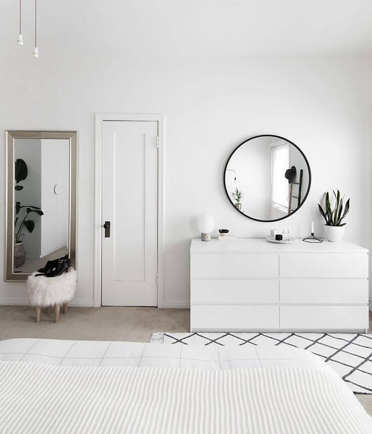 Скандинавский стиль спальня − Мебель в спальню − Спальня в скандинавском стиле