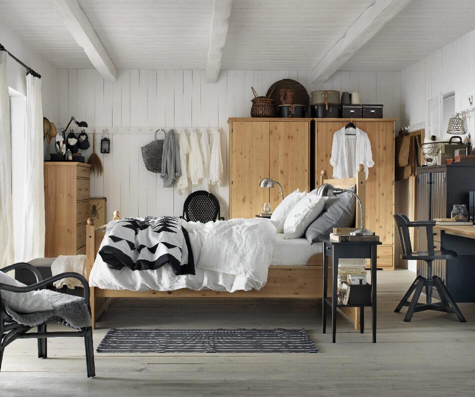 Скандинавский стиль спальня − Скандинавский декор − Спальня в скандинавском стиле