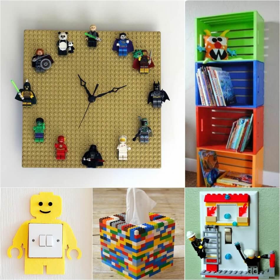 Интерьер Детской Комнаты для Мальчика − Детская Лего − Детская для Мальчика