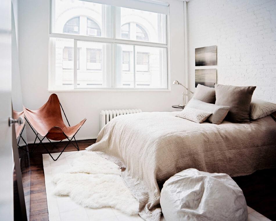 Скандинавский стиль спальня − Спальня в скандинавском стиле