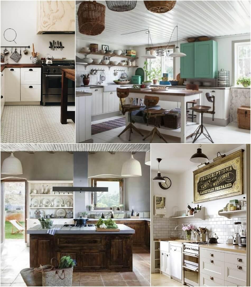 Белая Кухня - Белая Кухня Кантри - Дизайн Интерьера Белой Кухни