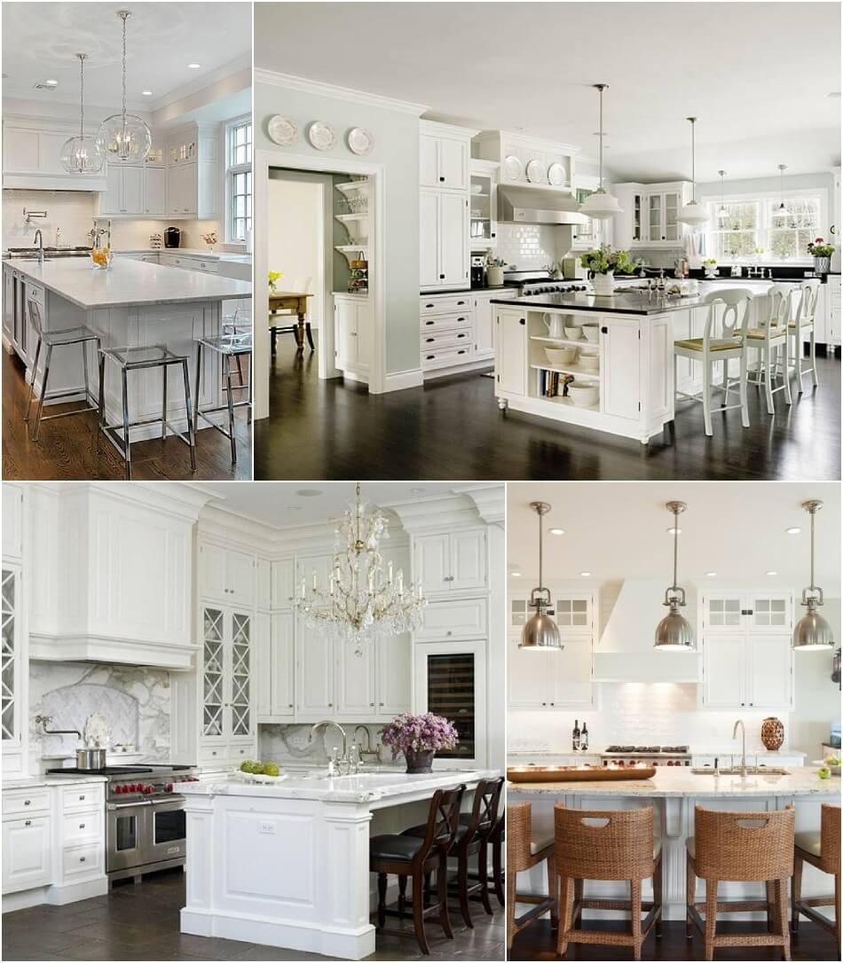 Белая Кухня - Белая Кухня Классика - Дизайн Интерьера Белой Кухни