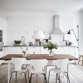 Белая Кухня - Дизайн Интерьера Белой Кухни