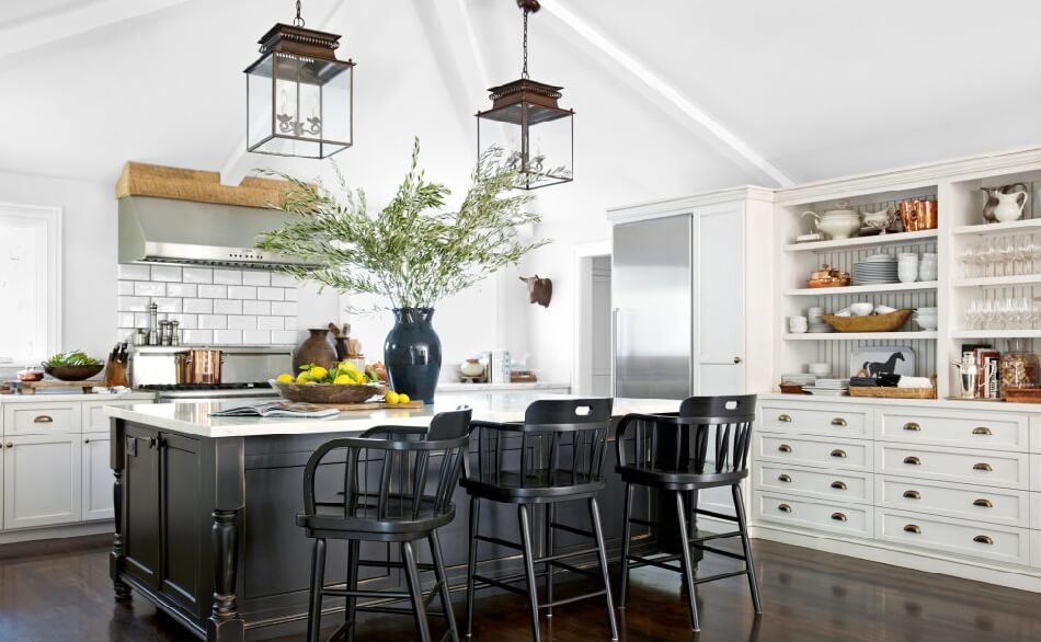 9 Extraordinary Light Wood Cabinets With Dark Countertops