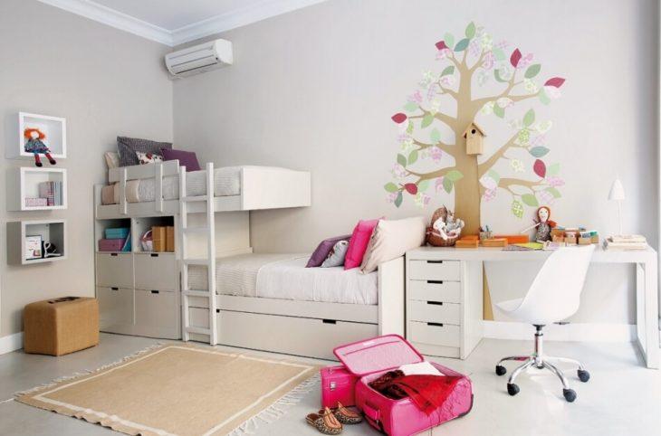 Детская Комната для Девочек − Детская для Двоих