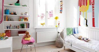 Детская Комната для Девочки − Планировка Комнаты для Девочки