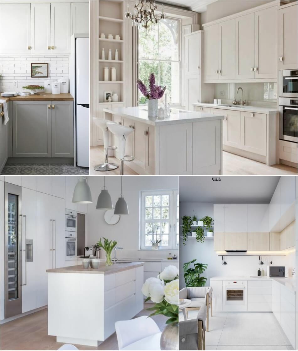 Маленькая Кухня - Белая кухня - Дизайн Маленькой Кухни