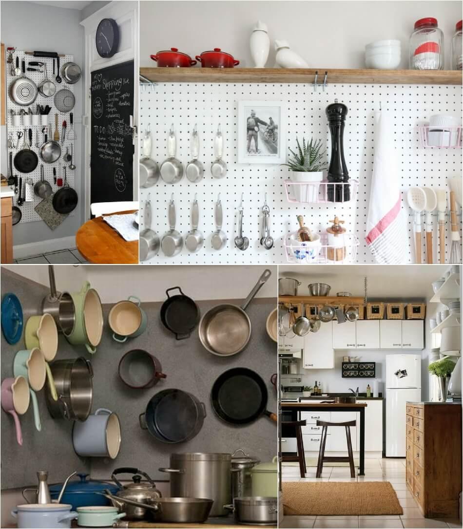 Маленькая Кухня - Хранение вещей - Дизайн Маленькой Кухни