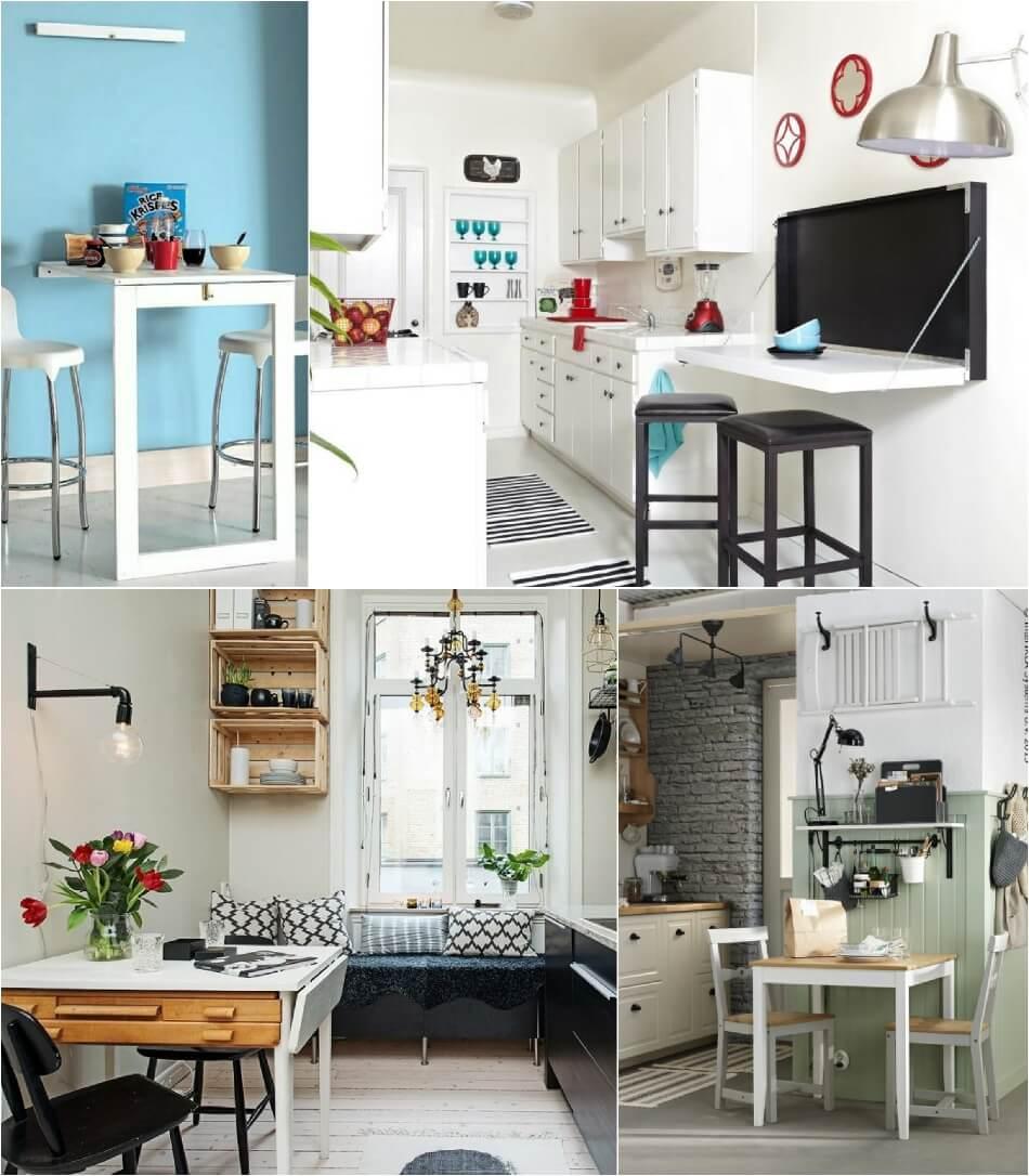 Маленькая Кухня - Компактная мебель - Дизайн Маленькой Кухни