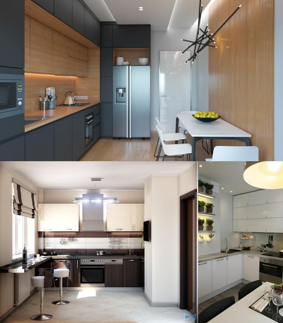 Маленькая Кухня - Кухня Хай Тек - Дизайн Маленькой Кухни