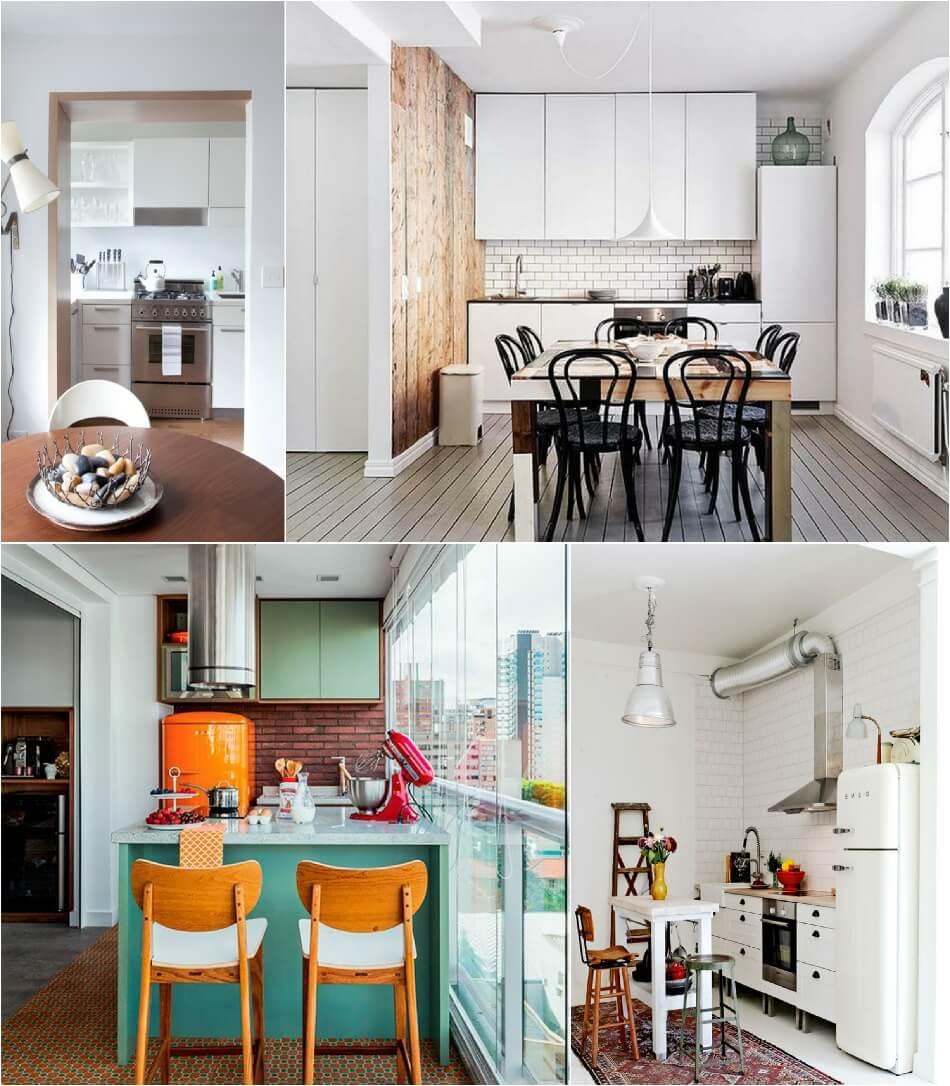 Маленькая Кухня - Кухня без двери - Дизайн Маленькой Кухни