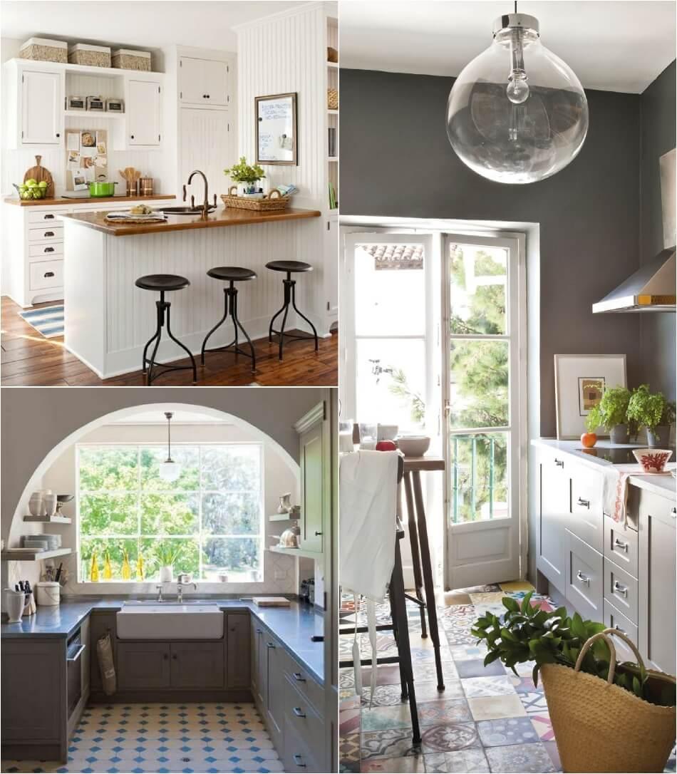 Маленькая Кухня - Кухня прованс - Дизайн Маленькой Кухни
