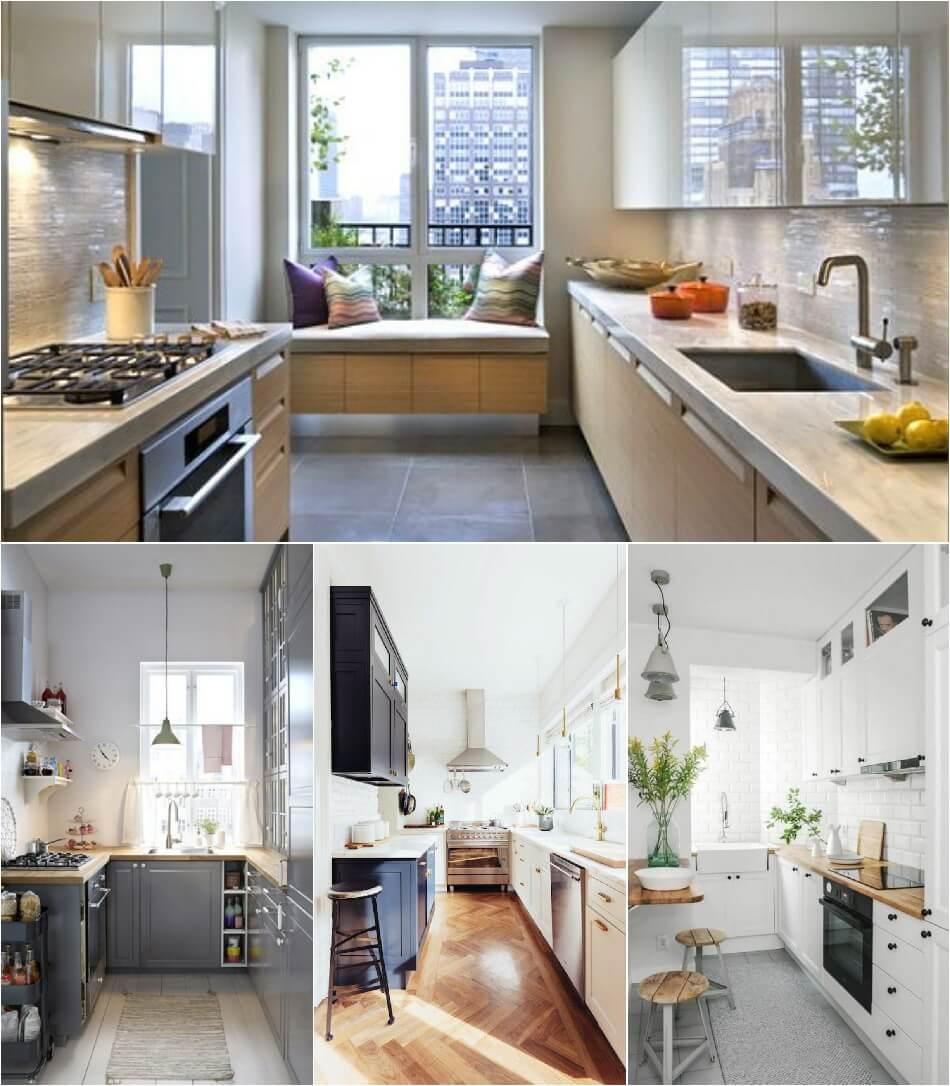 Маленькая Кухня - Кухня-прямоугольник - Дизайн Маленькой Кухни