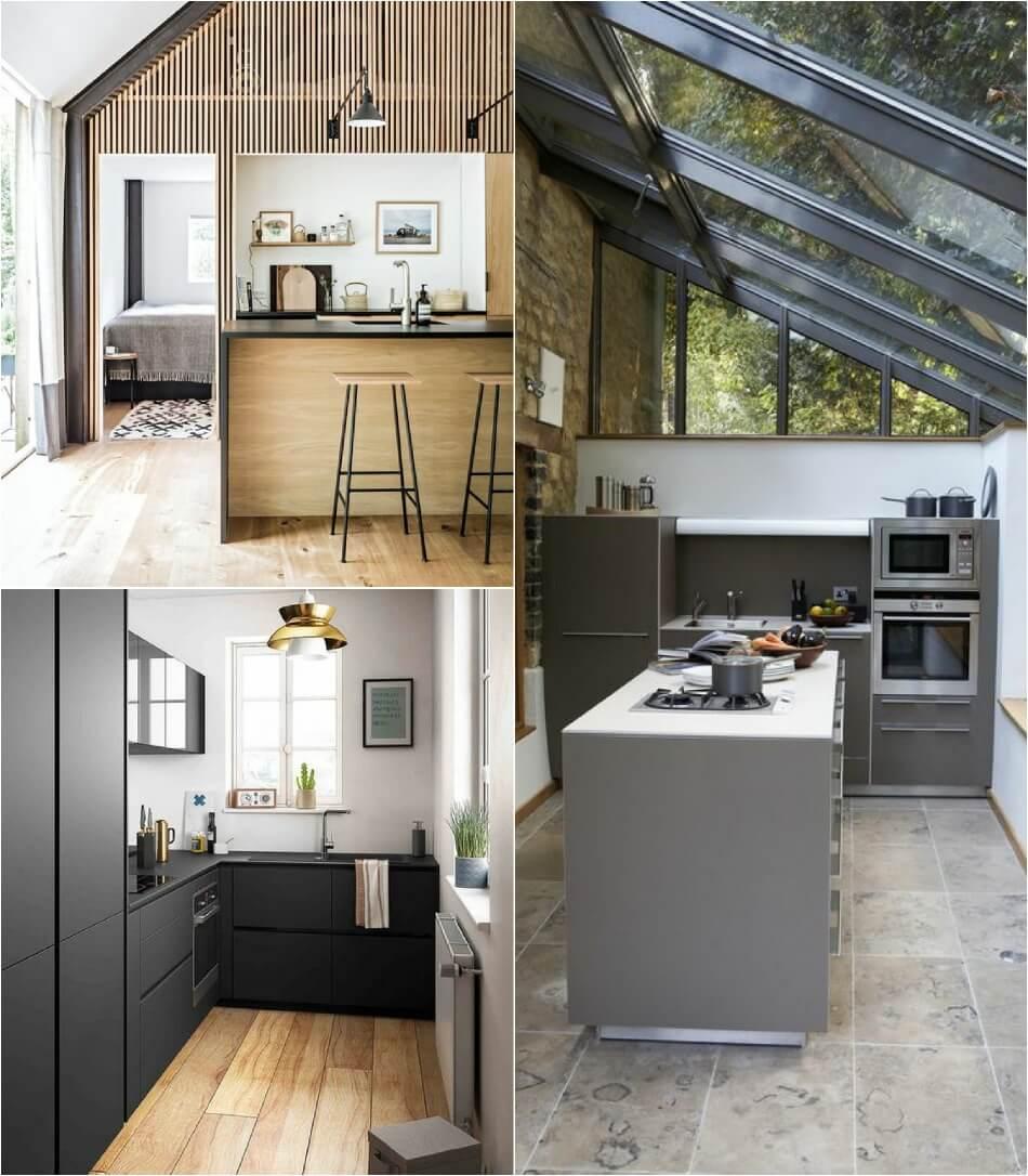 Маленькая Кухня - Минималистичный дизайн кухни − Дизайн Маленькой Кухни