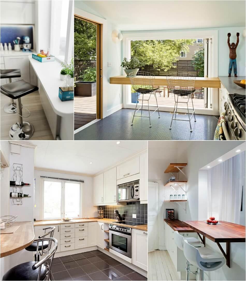 Маленькая Кухня - Переделка подоконника - Дизайн Маленькой Кухни
