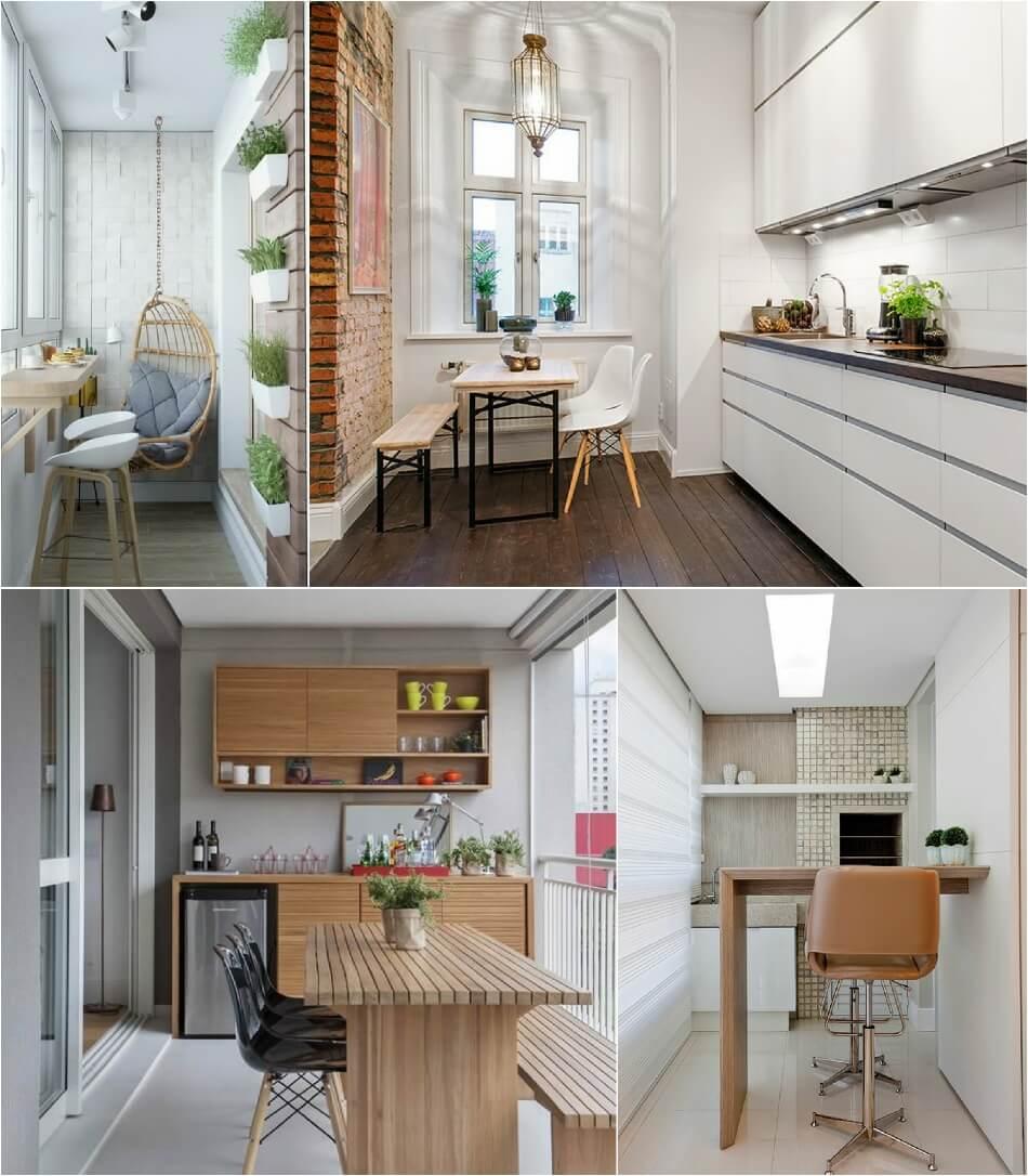 Маленькая Кухня - Перепланировка - Дизайн Маленькой Кухни
