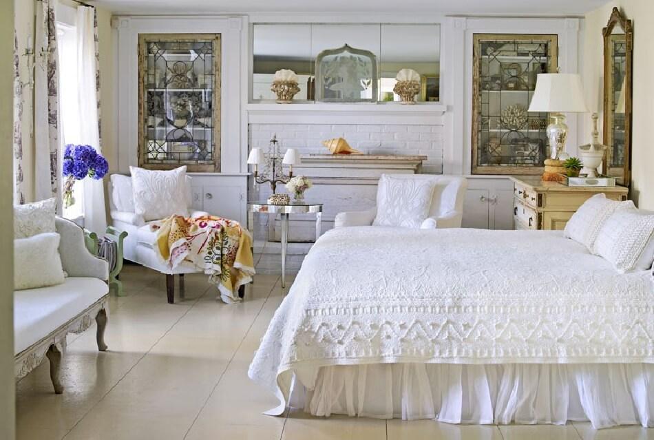 Спальня Кантри – Освещение в спальне -Интерьер Спальни в Стиле Кантри