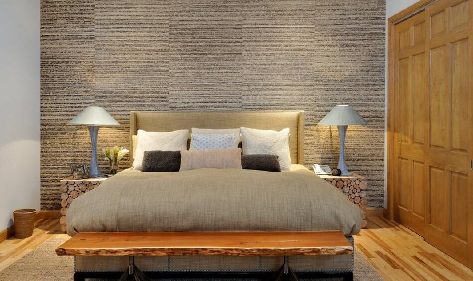 Спальня Кантри – Отделка стен -Интерьер Спальни в Стиле Кантри