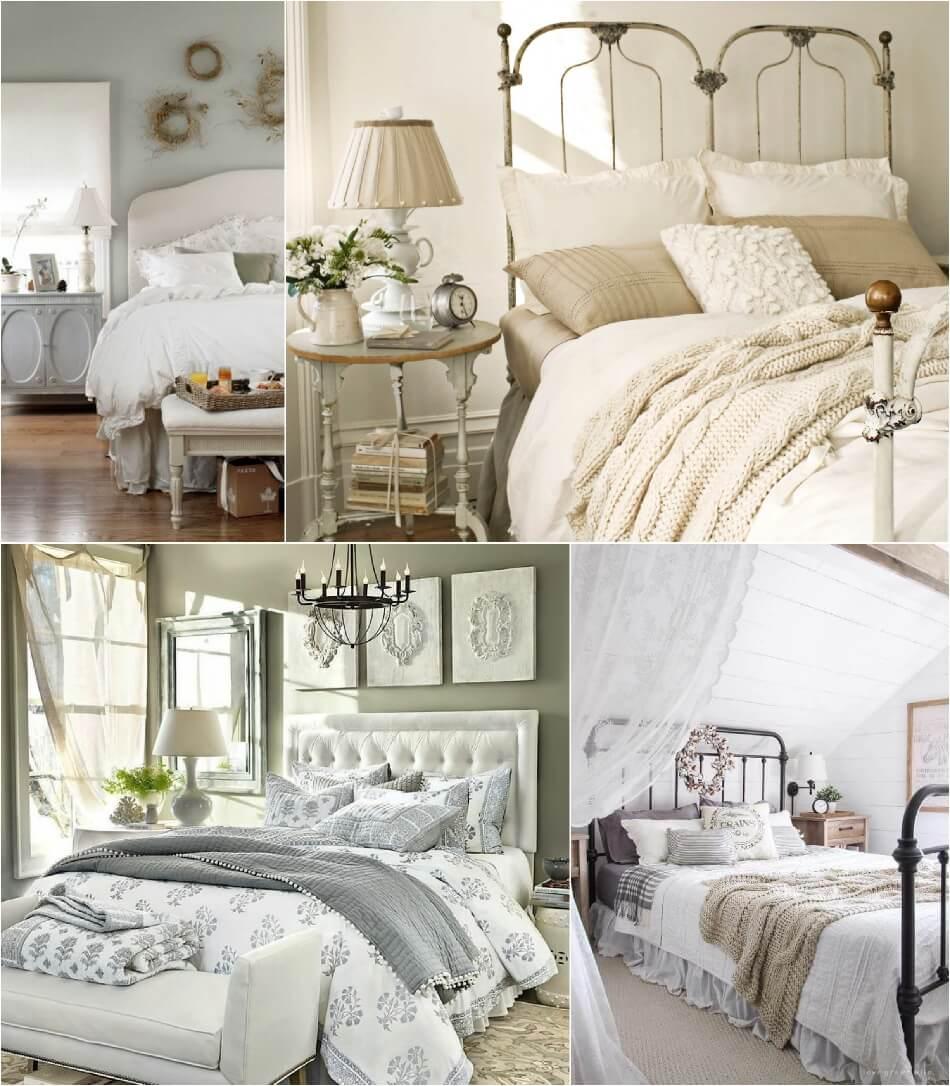 Спальня Кантри – Цвет в Спальне - Интерьер Спальни в Стиле Кантри