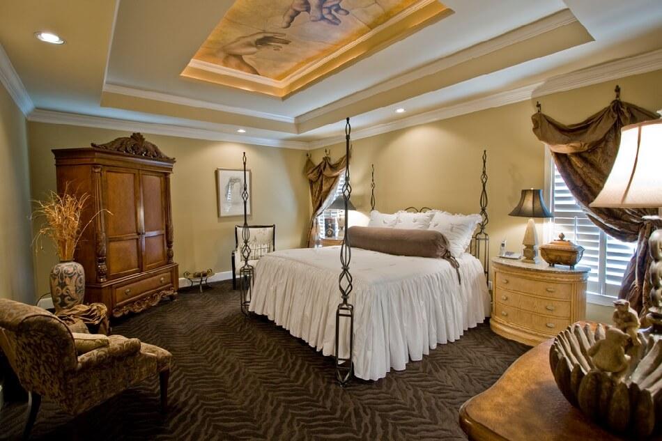 Спальня Классика - Классический Интерьер Спальни - Спальня в Классическом Стиле