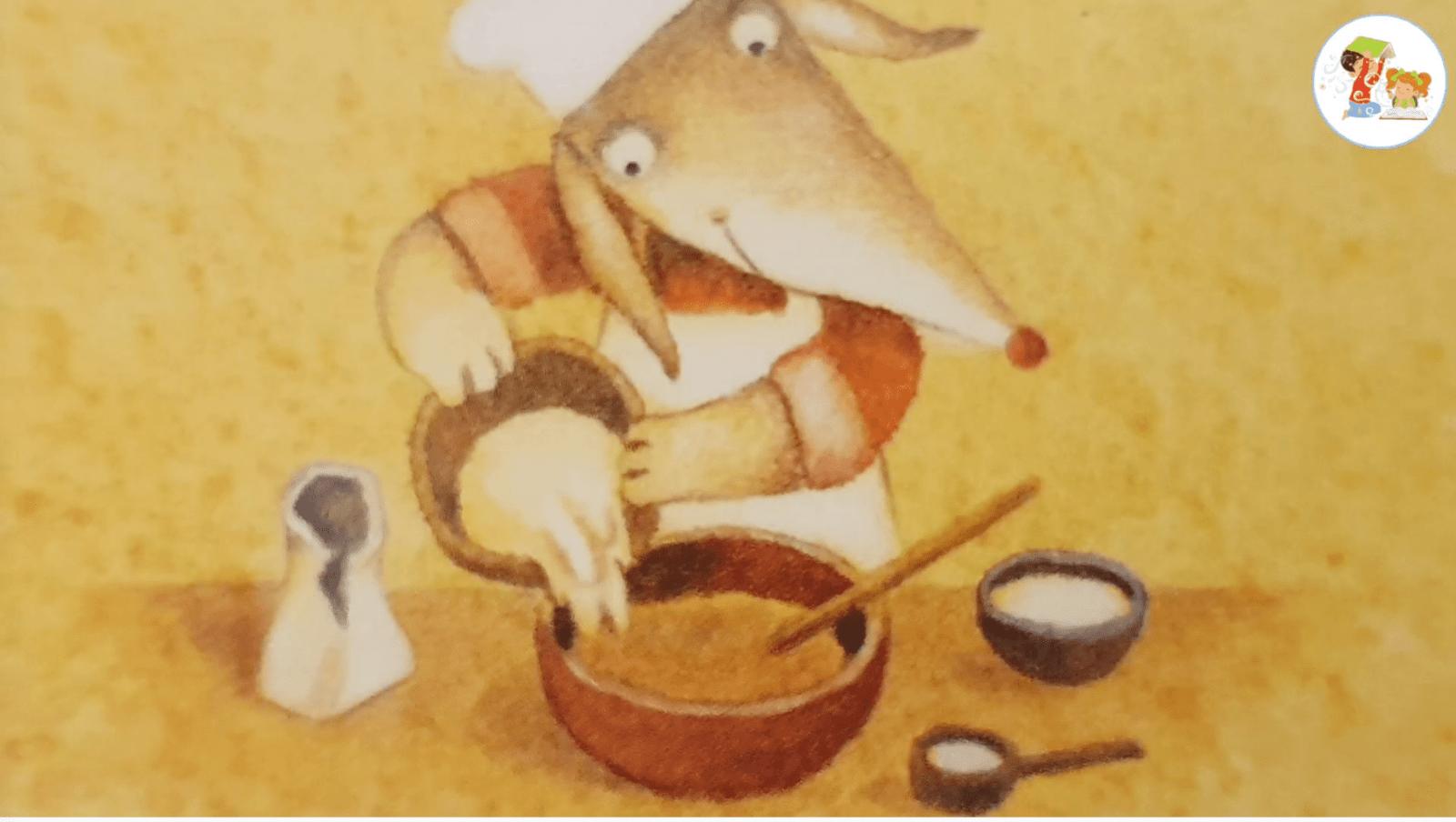 Детские аудио сказки - Лука готовит Пирог на Рождество